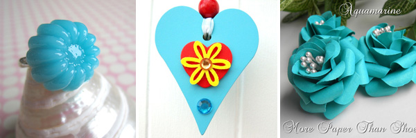 Blue Valentine's Day Crafts