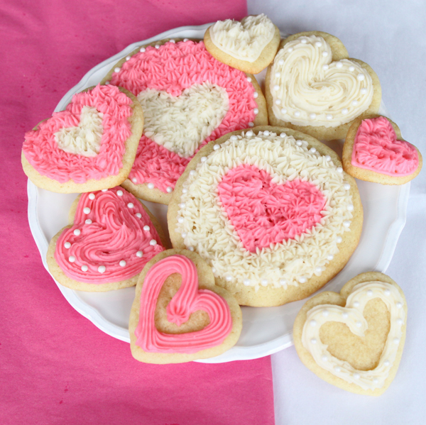 Valentine&#039;s Day cookies